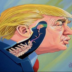 Dickhead Donald by Dave MacDowell