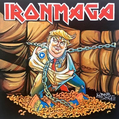 """IRON MAGA!"" by Dave MacDowell"