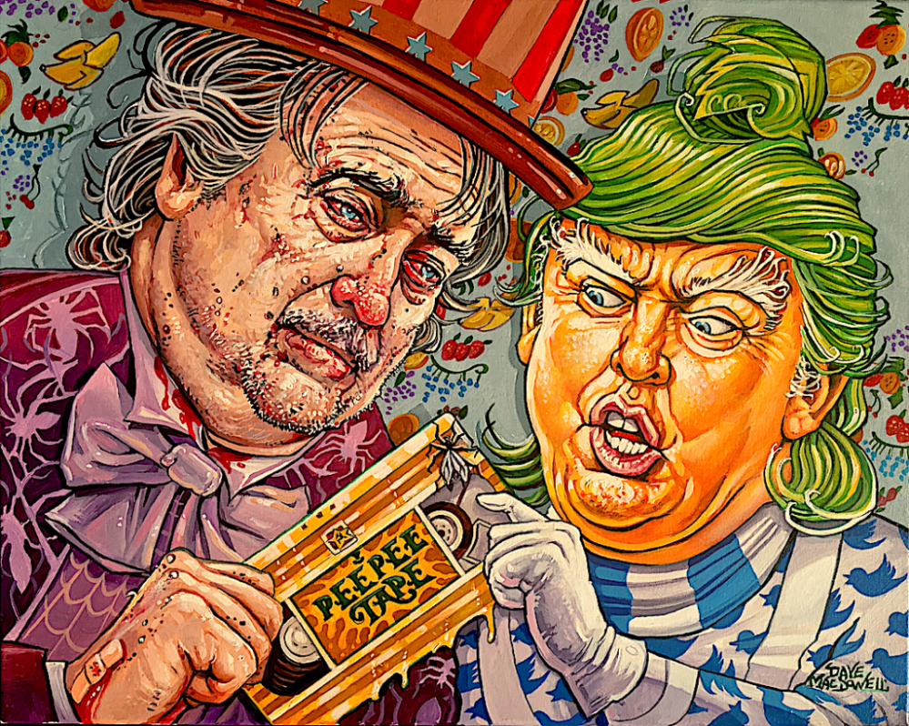 """I've Got The Golden Showers!"" by Dave MacDowell"