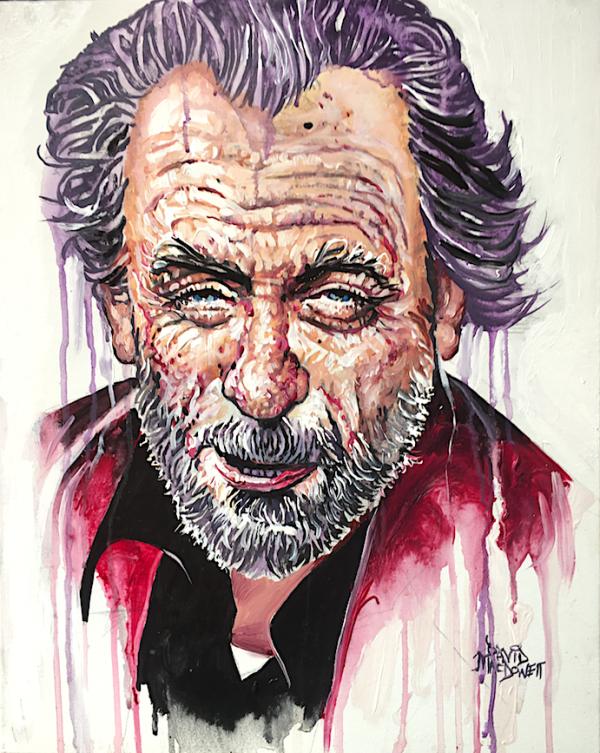 Bukowski Study by Dave MacDowell