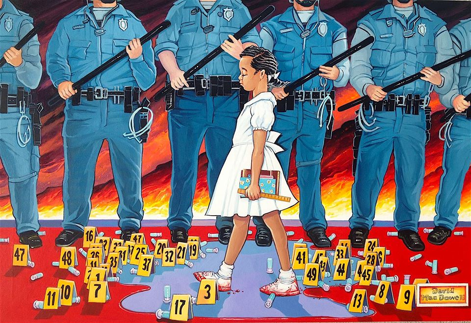 The Problem That We All Live With by Dave MacDowell