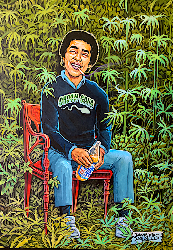 """The Green Party"" by Dave MacDowell"