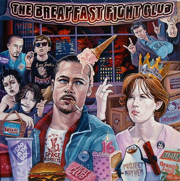 The Breakfast Fight Club by Dave MacDowell