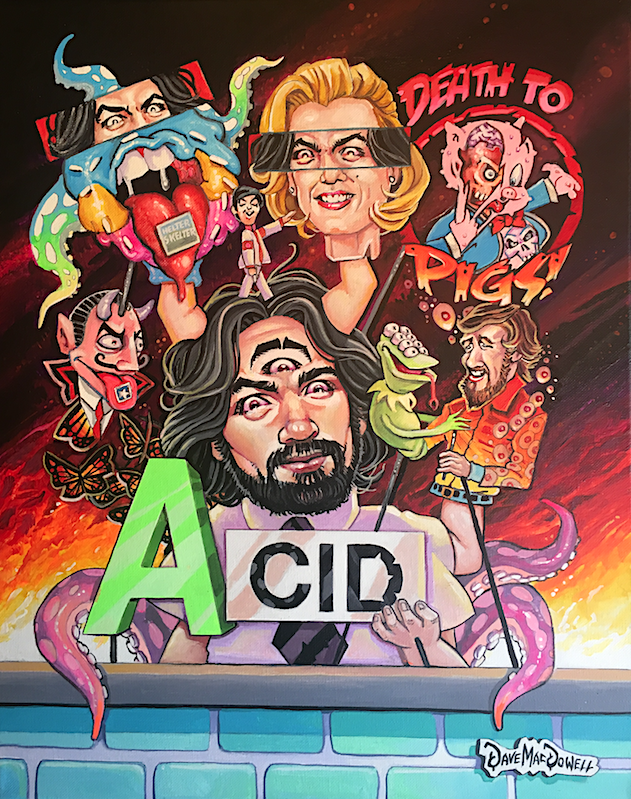 A Is For Acid by Dave MacDowell