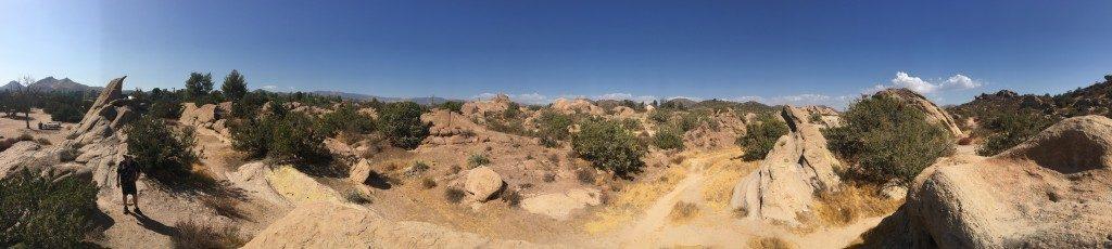 Vasquez Rocks in Southern California