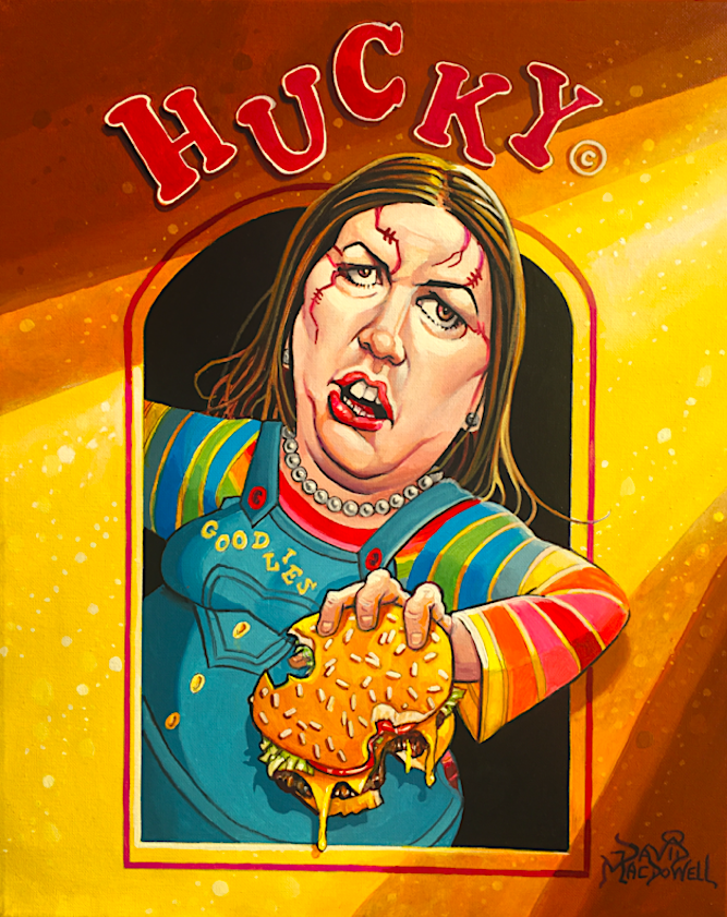 """HUCKY!"" by Dave MacDowell"