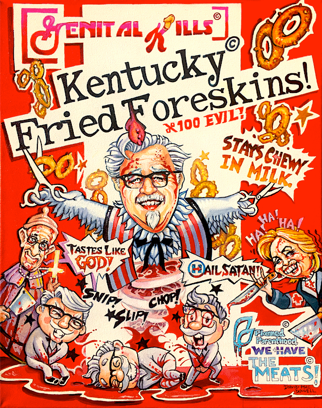 Kentucky Fried Foreskins