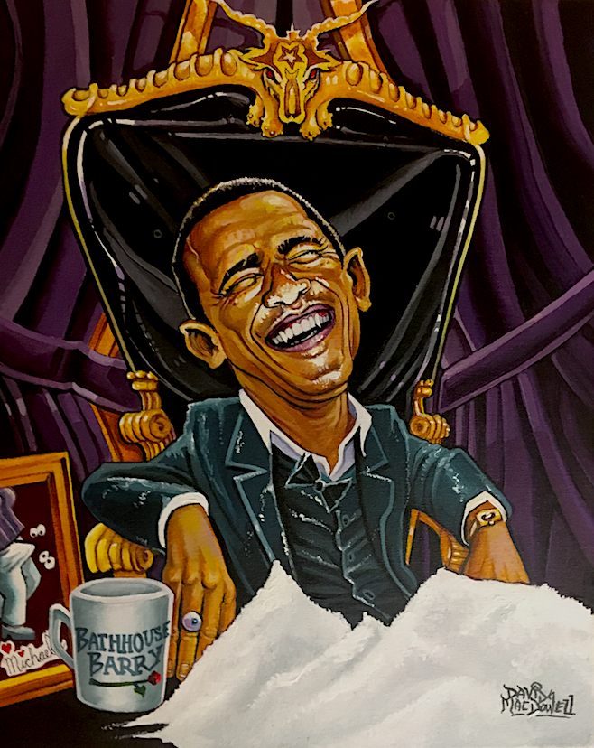 Bathhouse Barry! by Dave MacDowell