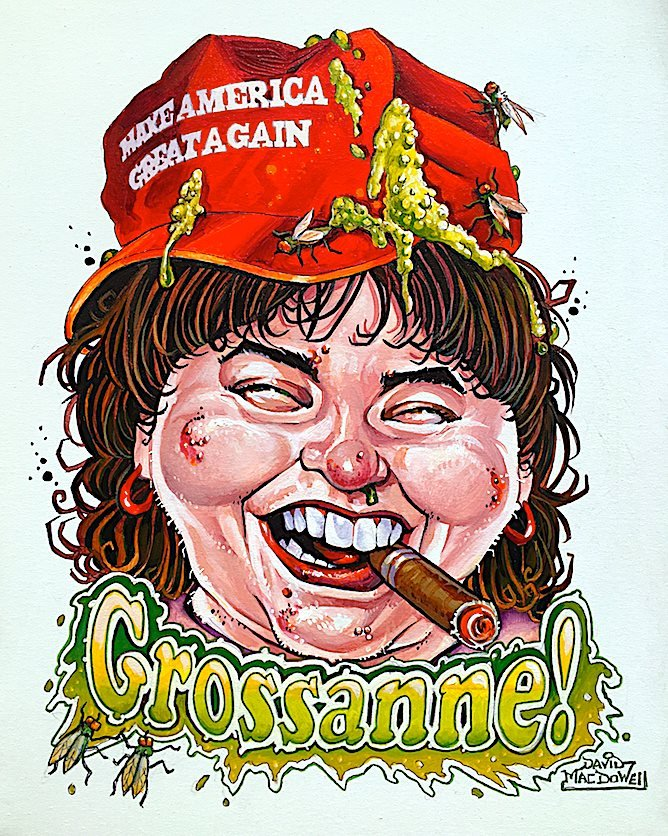 Grossanne! by Dave MacDowell