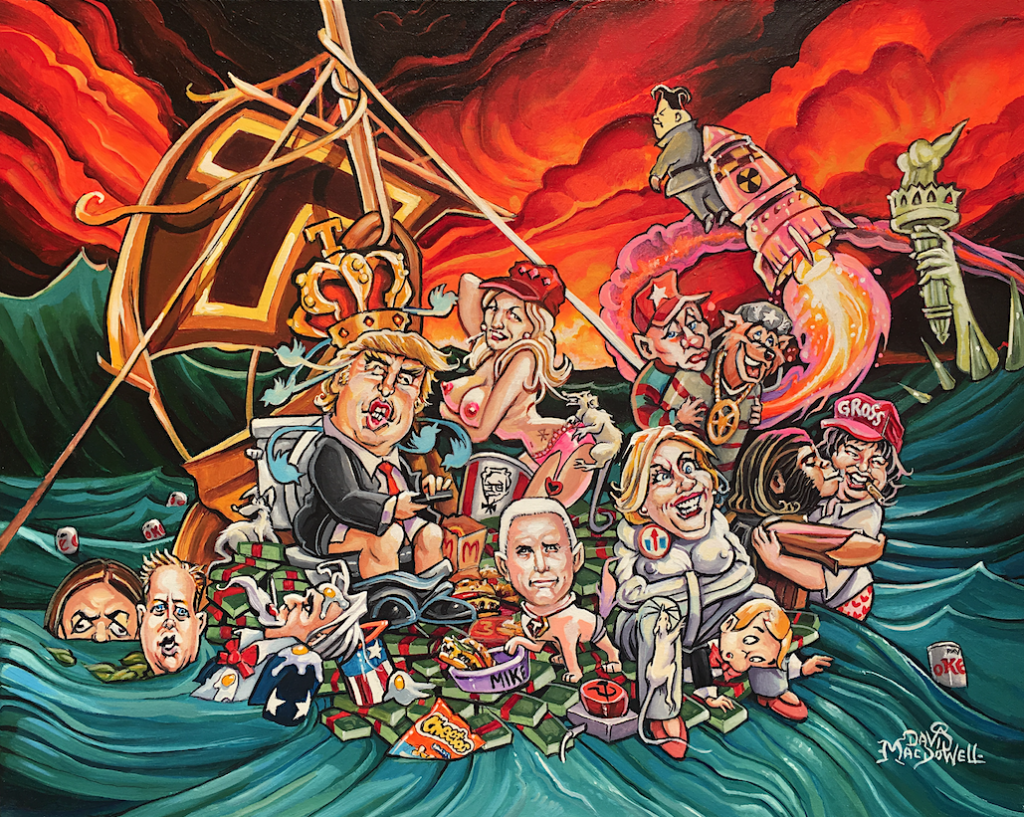 Swamp Rats by Dave MacDowell