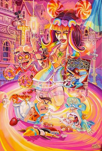 Rainbow Frosted by Dave MacDowell