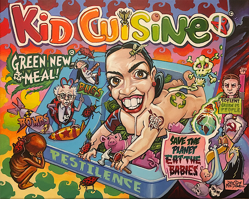 EAT THE BABIES! by Dave MacDowell