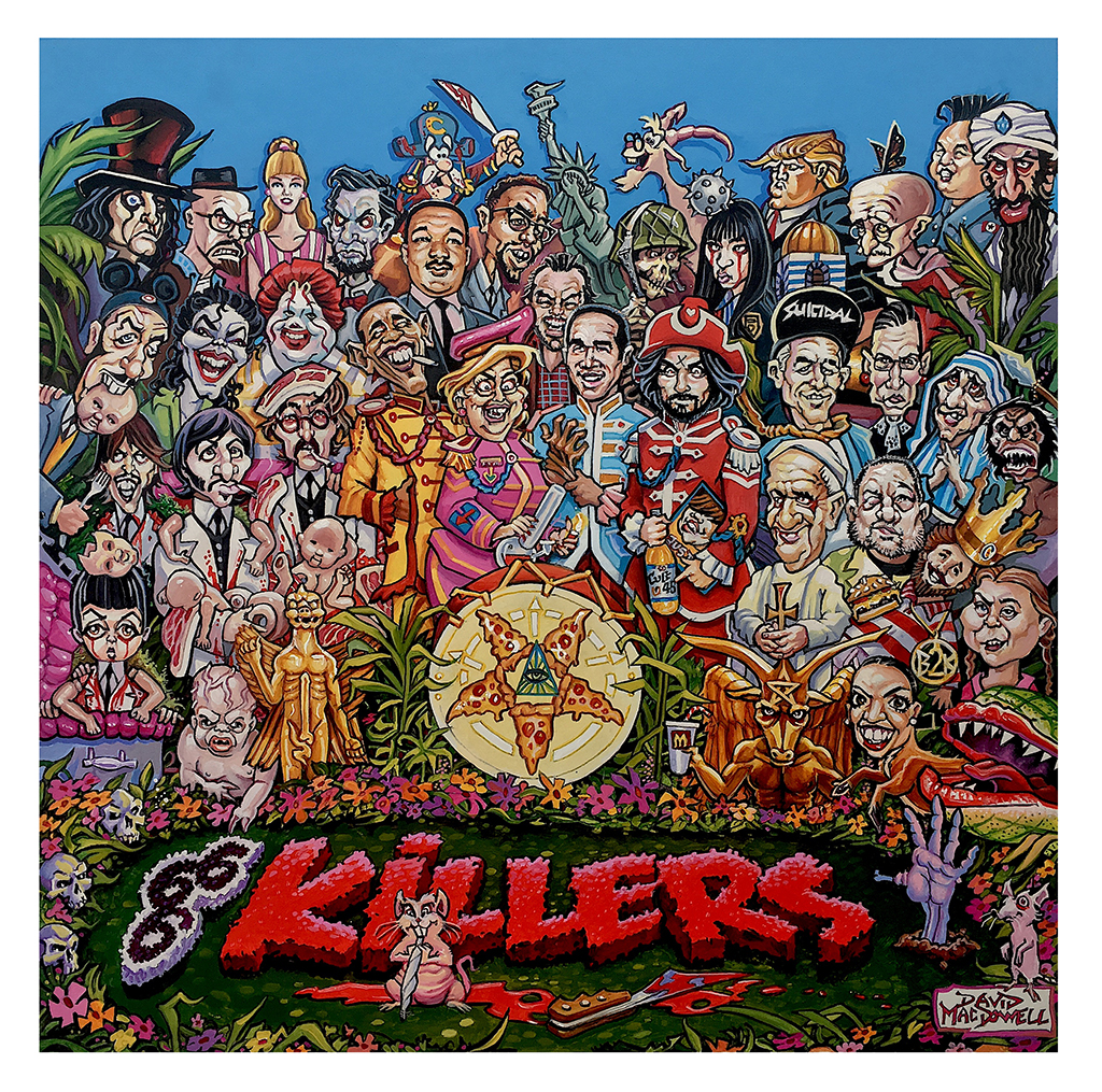 """Killers"" Art Poster Print by Dave MacDowell"